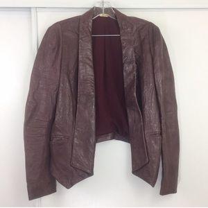 Rebecca Minkoff Lambskin Blazer Jacket